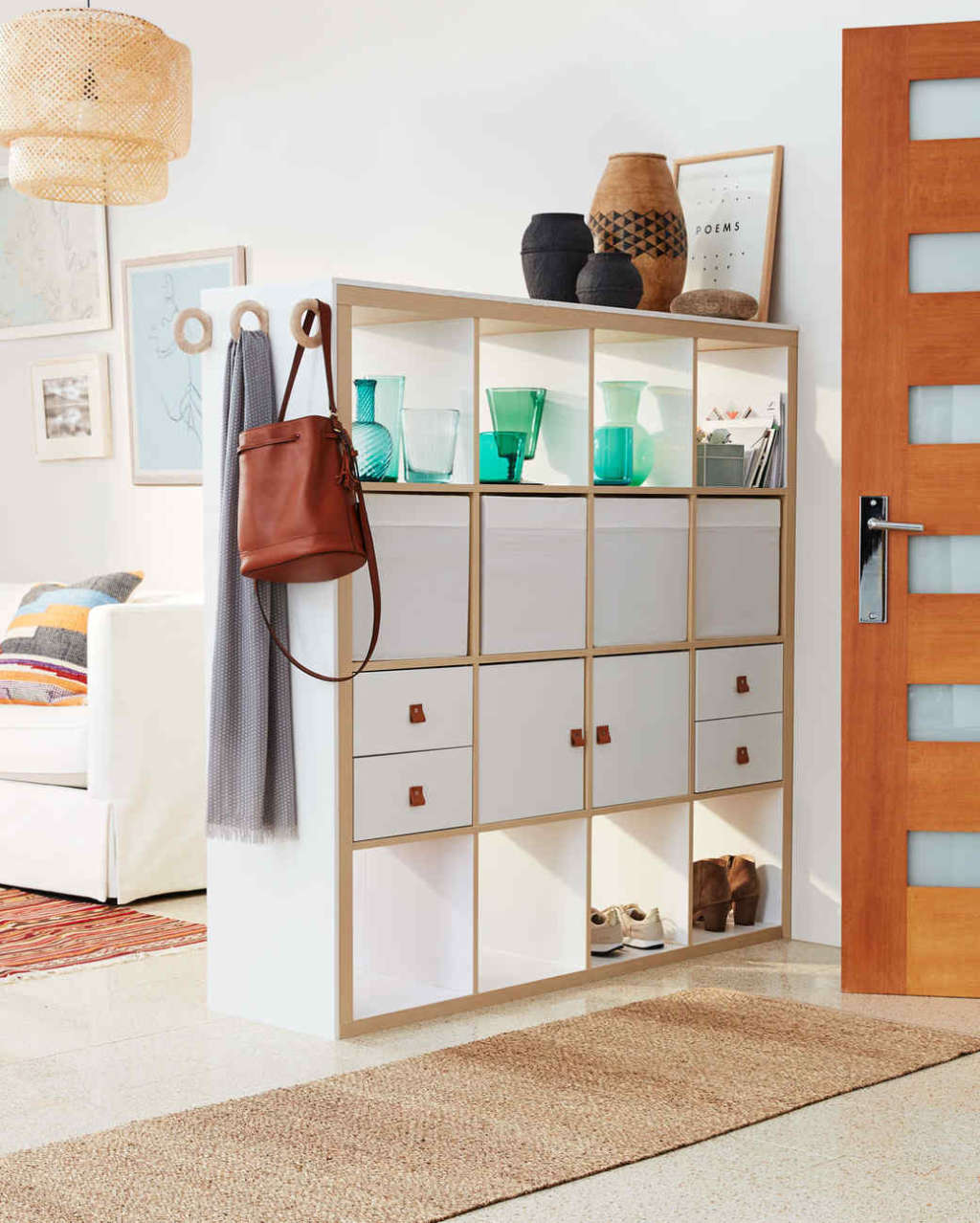 How to Use Furniture to Add Storage to Open-Plan Space