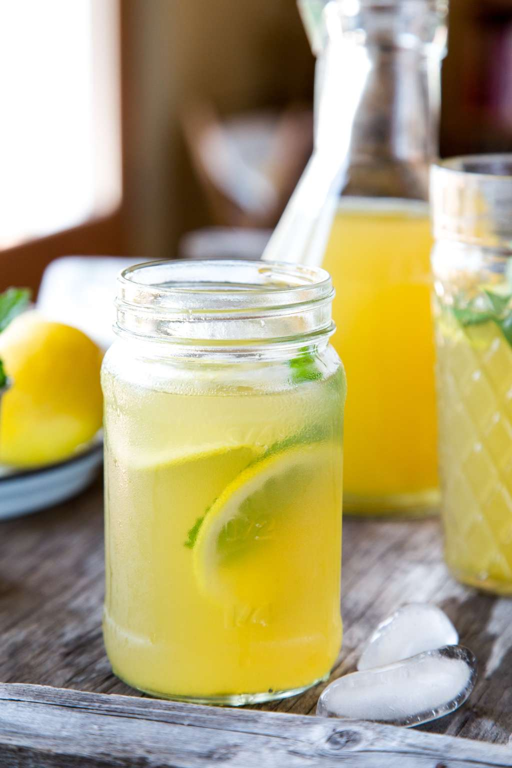 Recipe: Iced Green Tea with Mint & Ginger