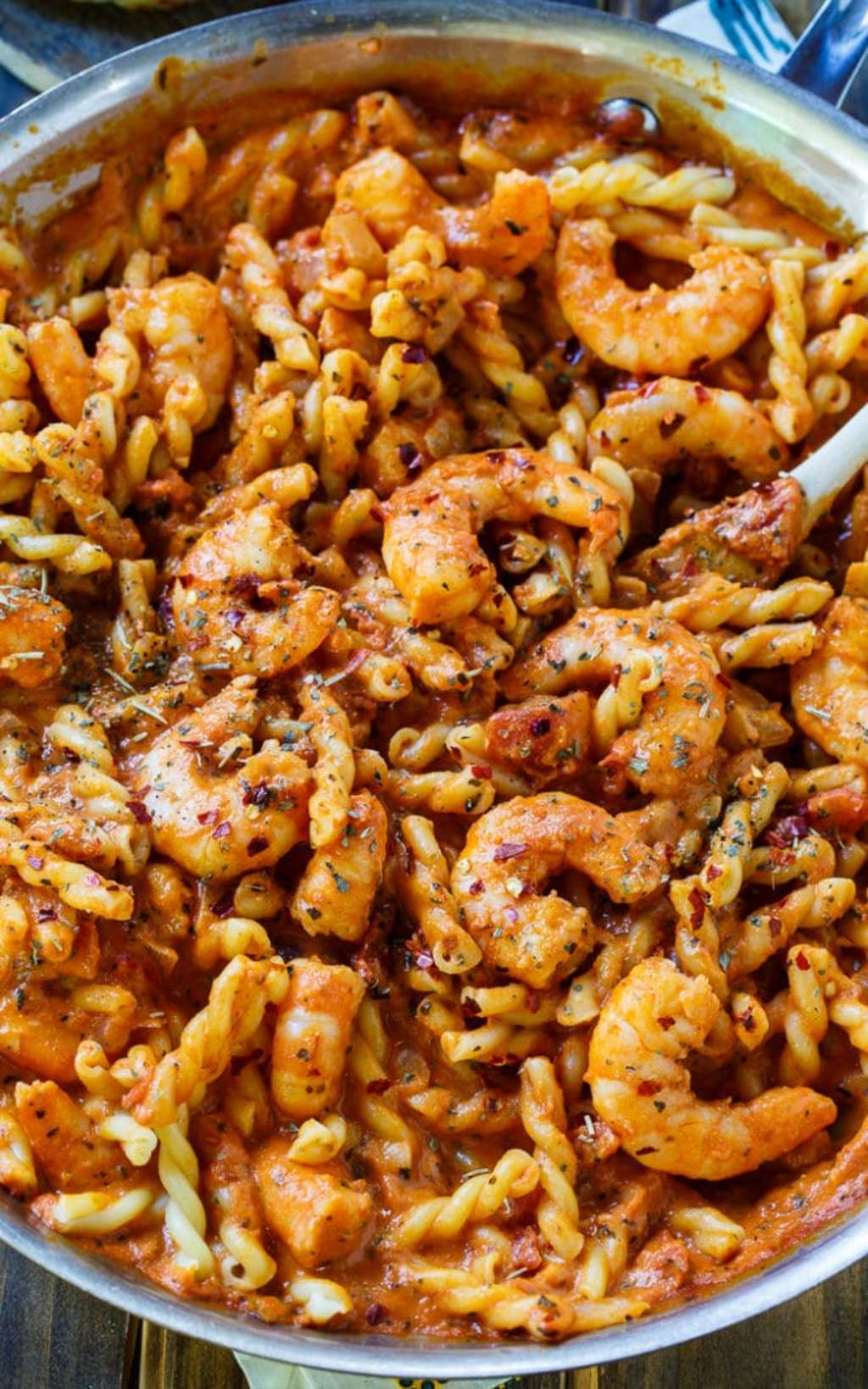 Make This 20-Minute Spicy Shrimp Pasta at Home This Week