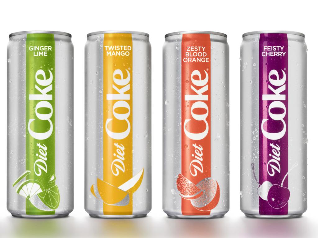 Diet Coke Attempts to Woo Millennials with New Branding