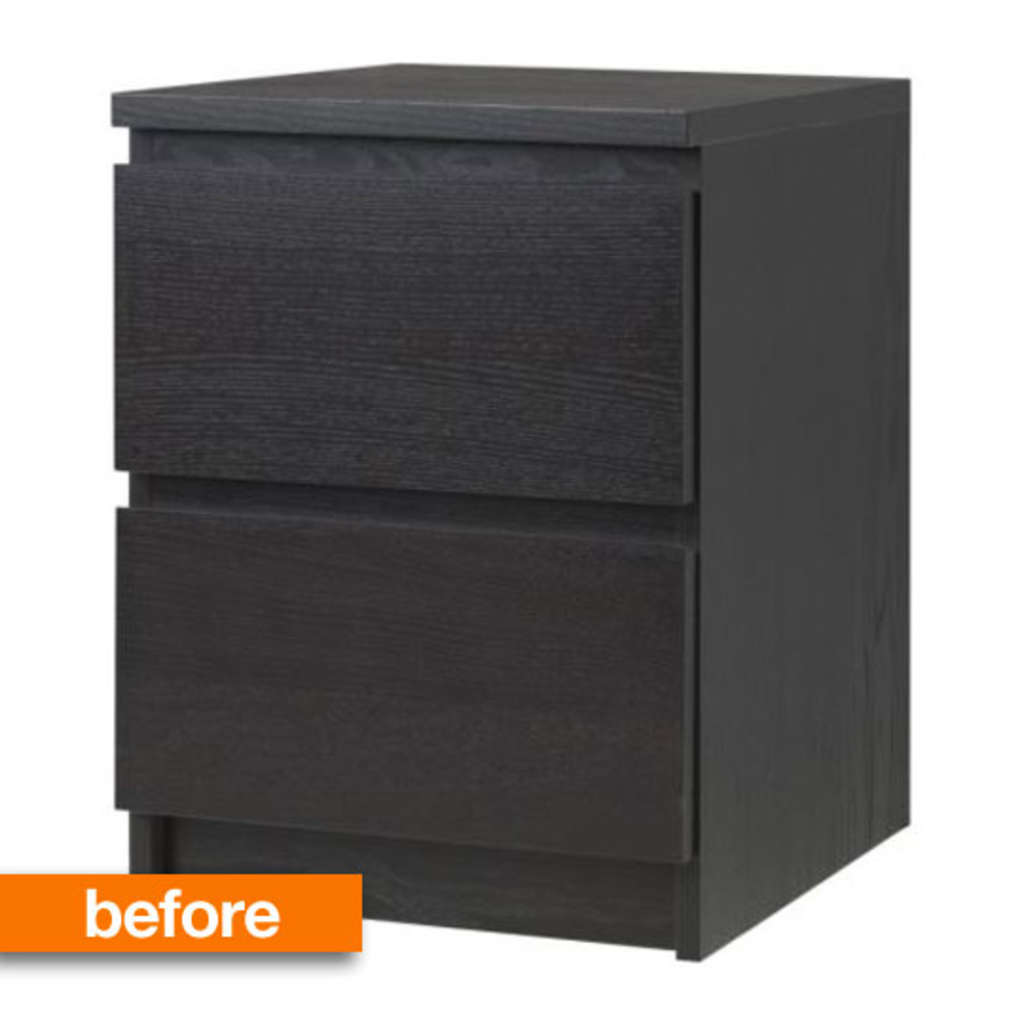 Before & After: Bet You Can't Guess What This IKEA MALM Was Converted Into