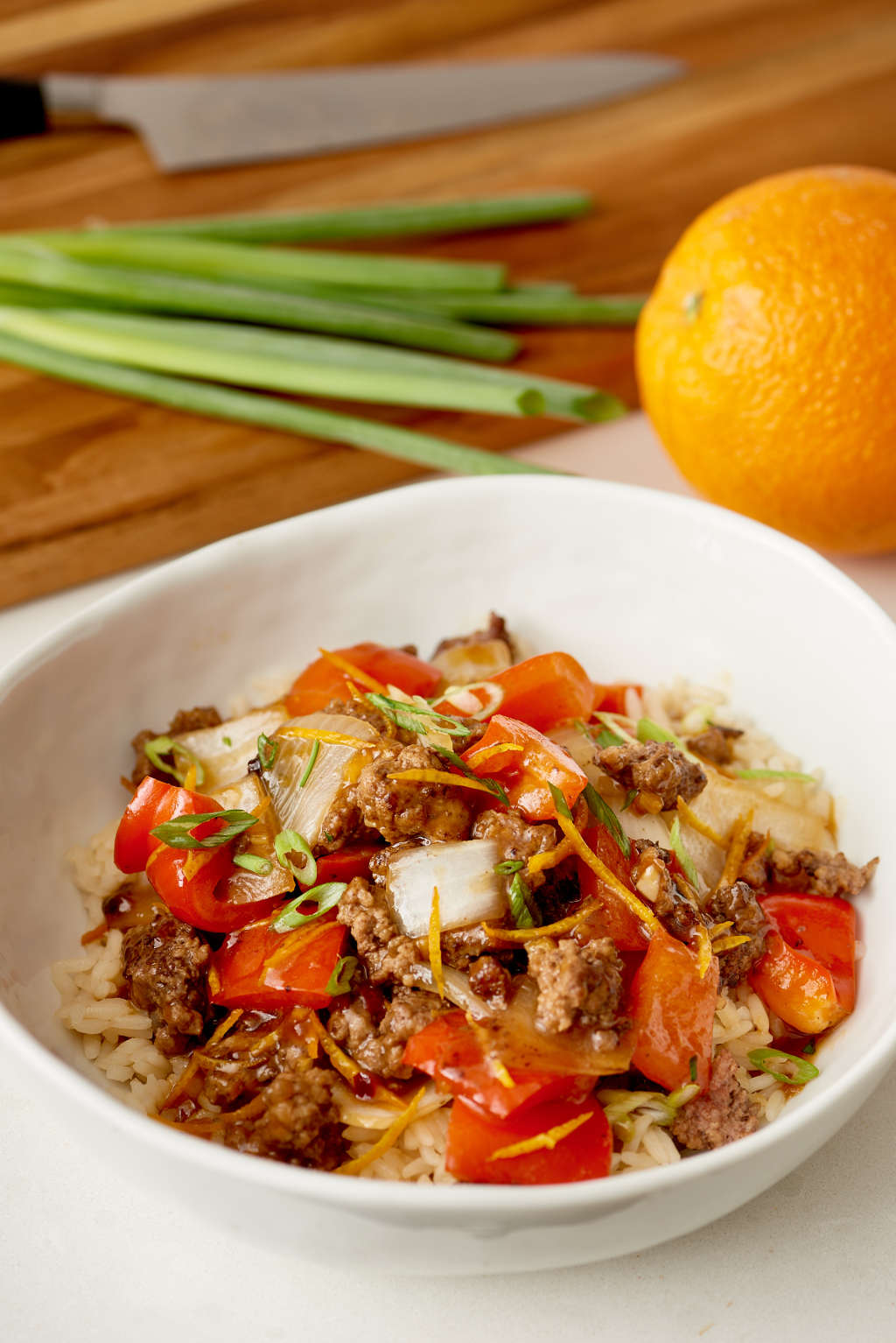 Better-than-Takeout Crispy Orange Beef & Veggies