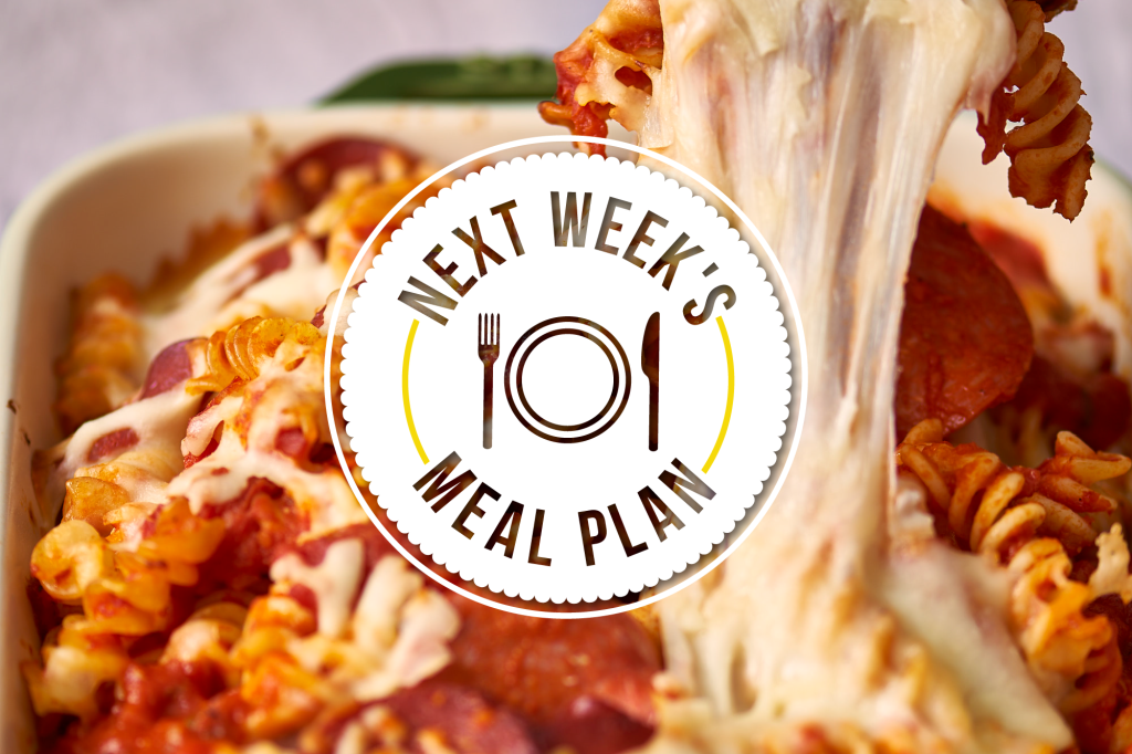 Next Week's Meal Plan: 5 Most-Requested Family Meals