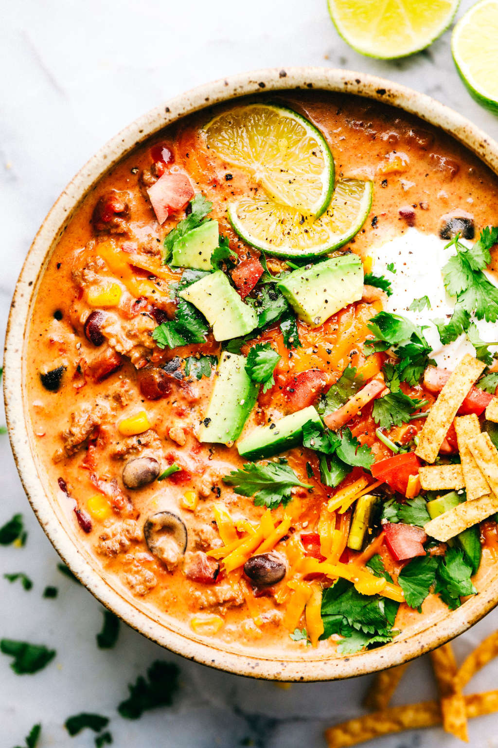 You Need This Cheesy Taco Soup in Your Life