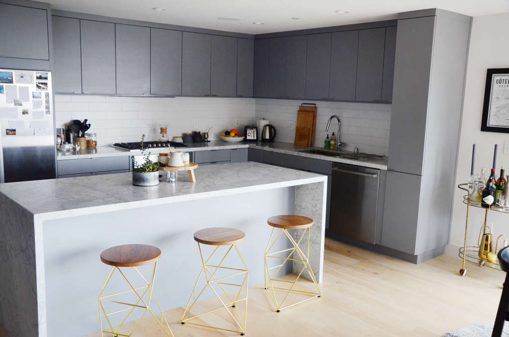 This Kitchen Cabinet Color Will Be Trendy for a Long Time