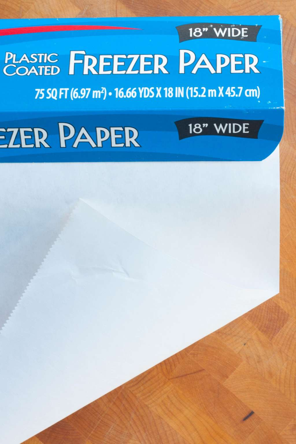 what is freezer paper and how is it different from wax paper parchment kitchn. Black Bedroom Furniture Sets. Home Design Ideas