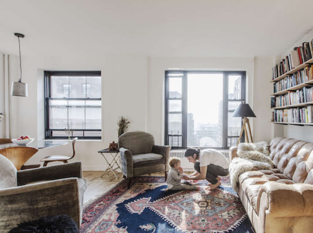 How To Make a Small One-Bedroom Work for a Family of Four