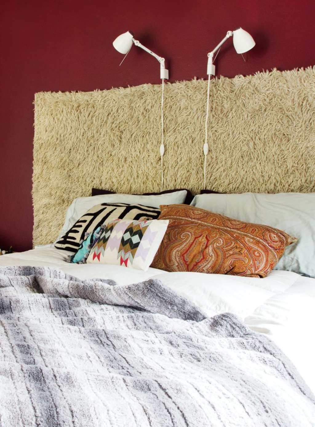 A New Headboard by Bedtime: 12 Unusual & Affordable DIY Headboard Ideas