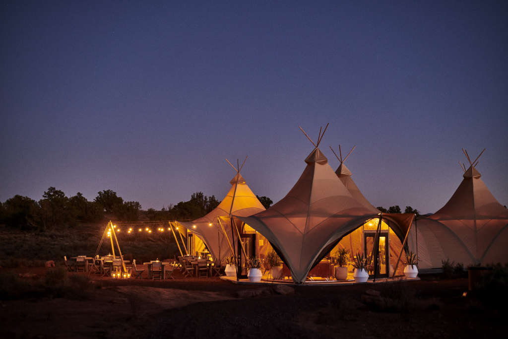 This Glamping Site Lets You Sleep Near the Grand Canyon