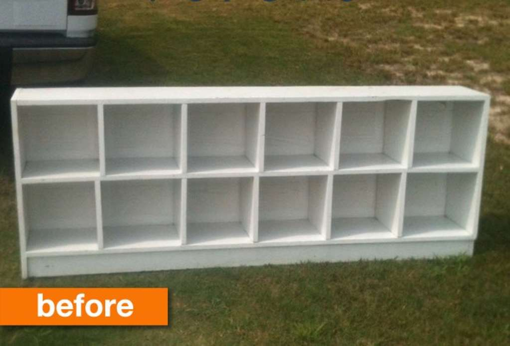 Before & After: From Uninspiring Shelf to Ultra-Functional Floating Storage!