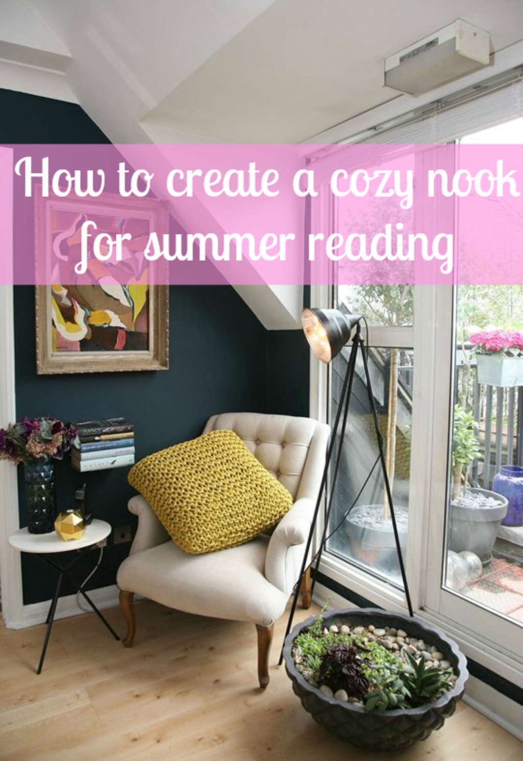 Cool, Cozy Reading Nooks