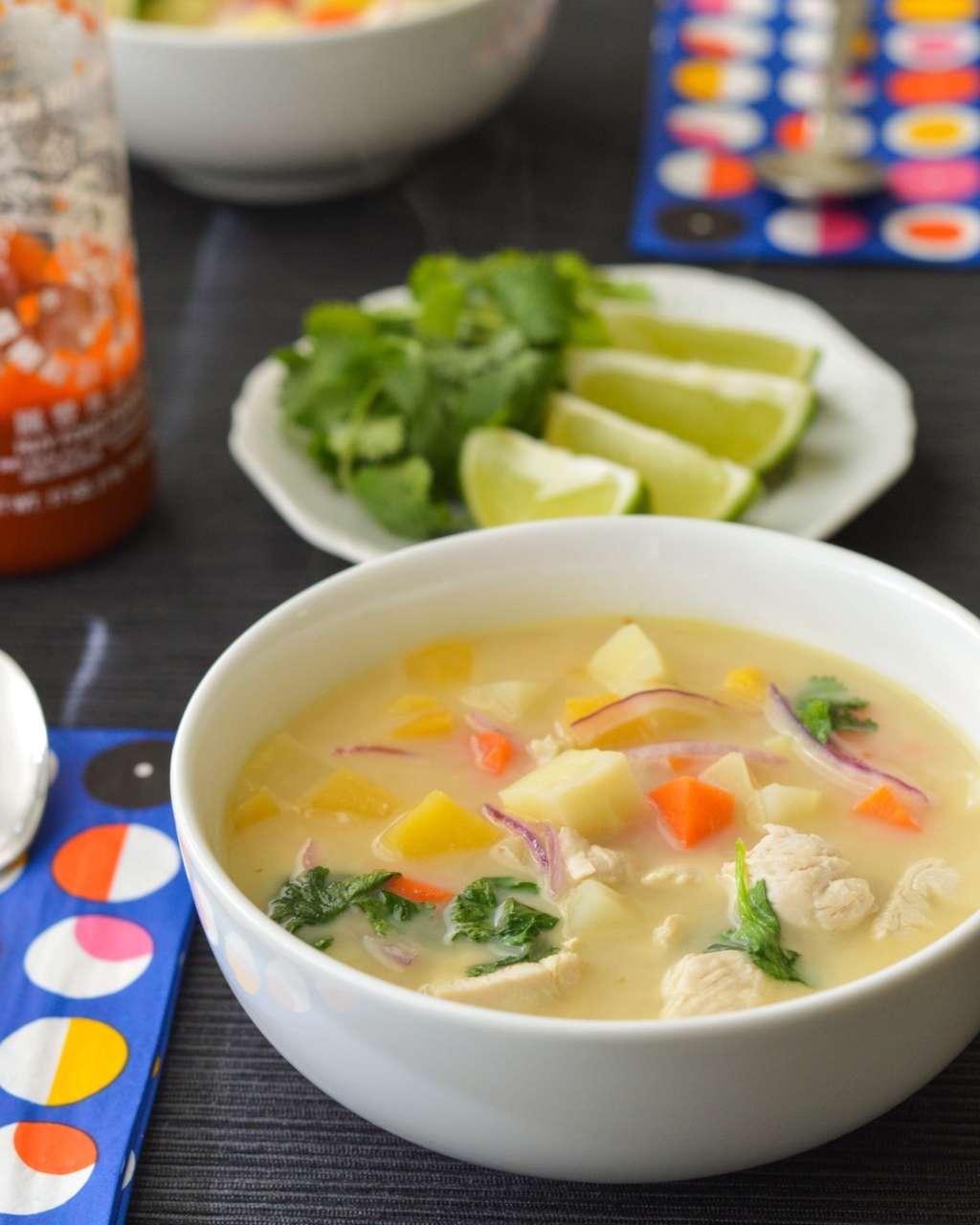 Recipe: Quick Coconut Chicken Soup