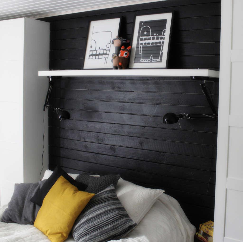 Easy IKEA Hack: Flipped FORSÅ Lamps Become Bedroom Lights