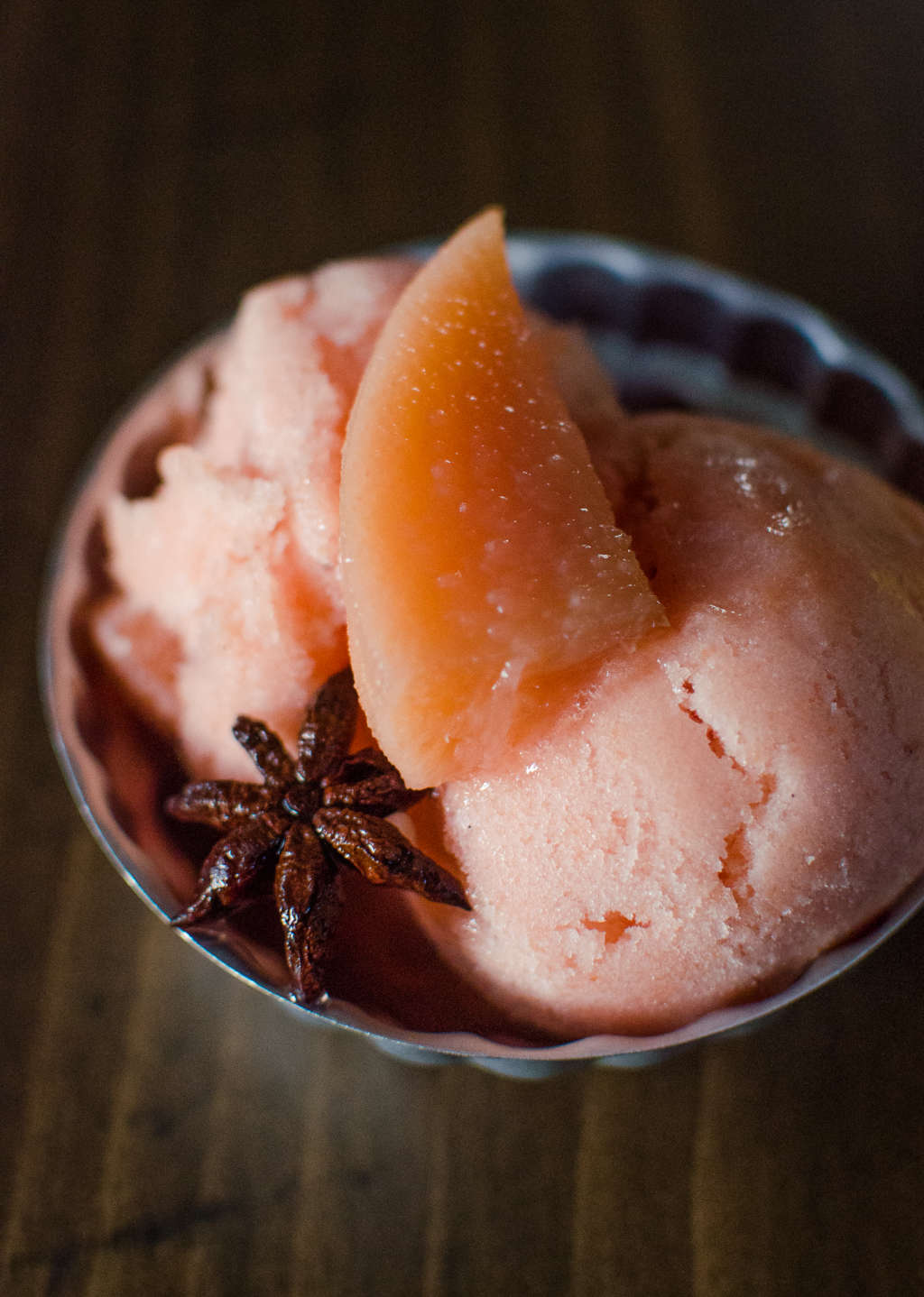 Fall Recipe: Quince & Vanilla Sorbet