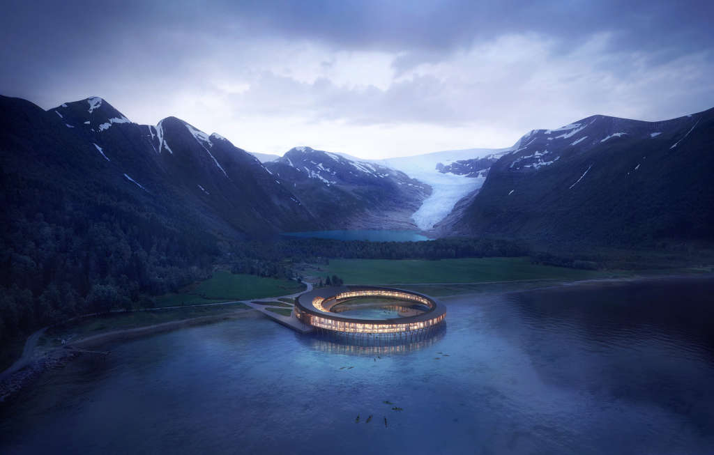 This Futuristic Hotel Will Create More Energy Than It Uses