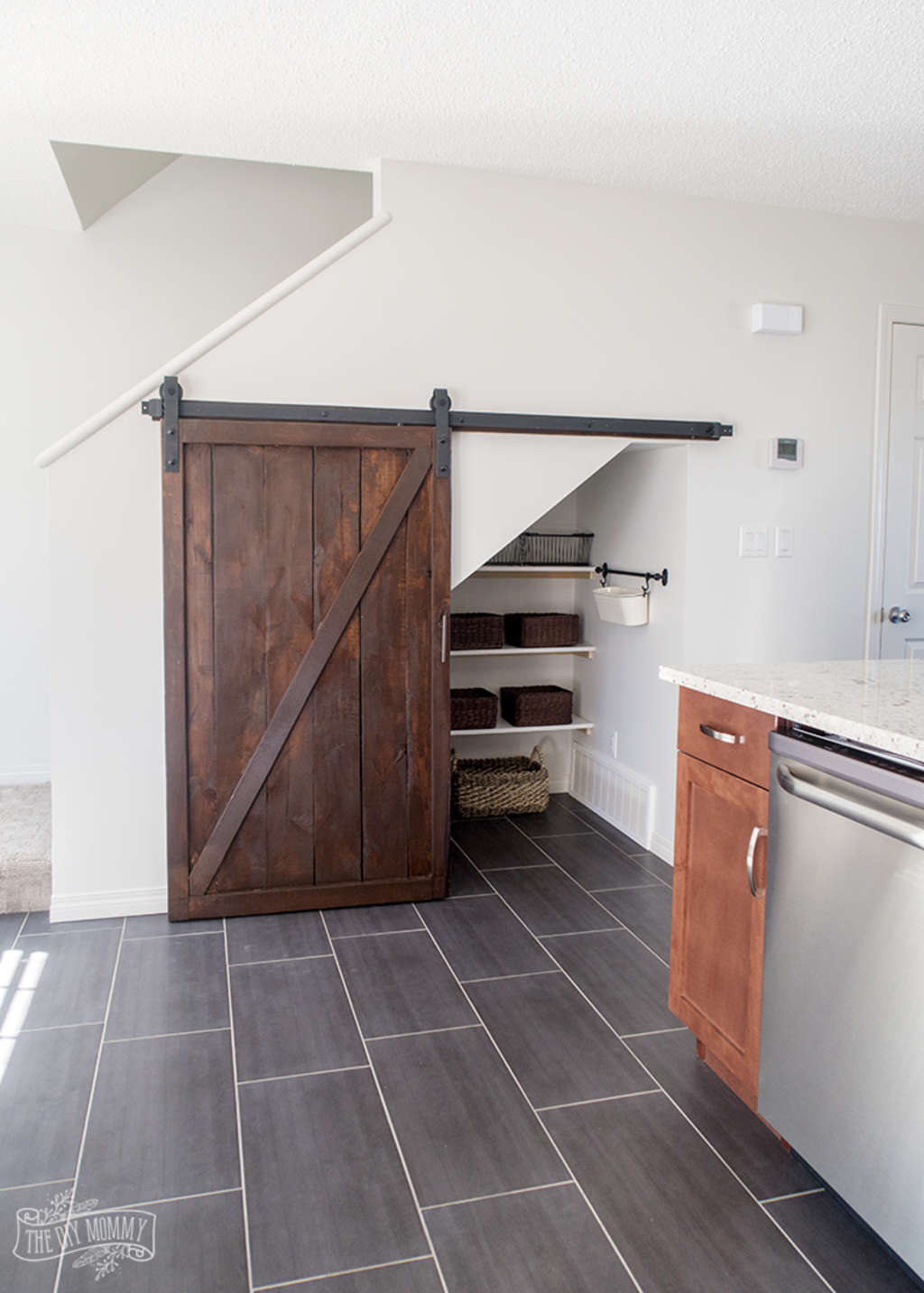 Extremely Cool Pantries With Barn Doors Kitchn Jpg 1024x1433 Rustic Hickory  Interior Doors