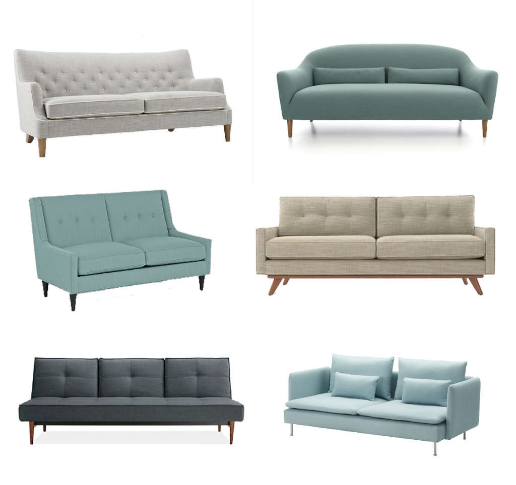 Six Stylish Sofas for Small Spaces