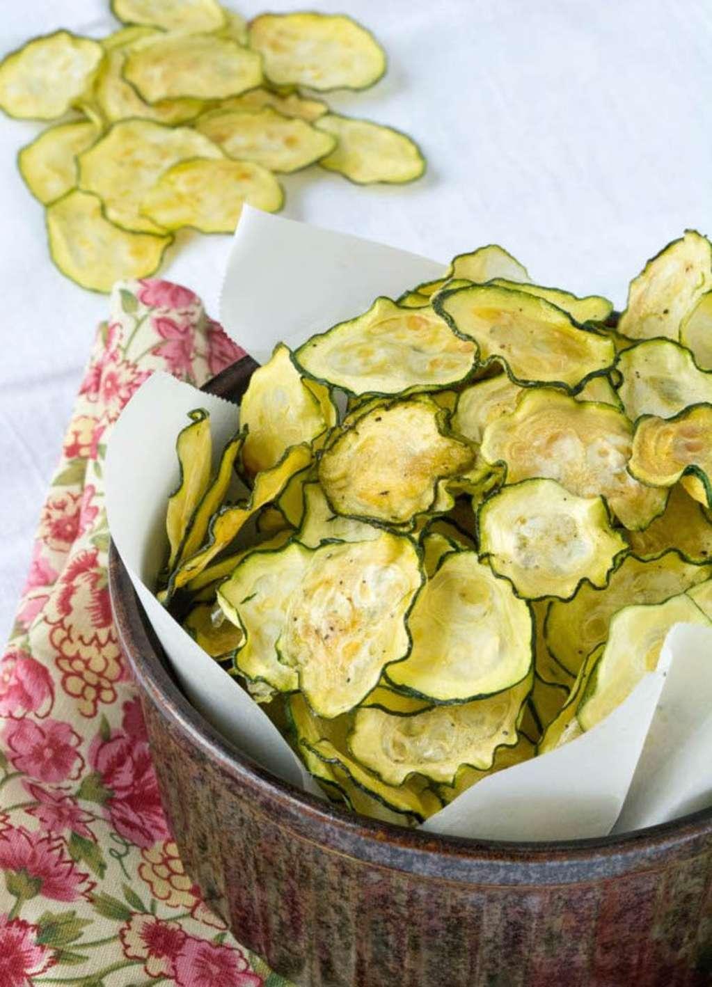 DIY Salt and Vinegar Chips Get a Healthy, Seasonal Twist