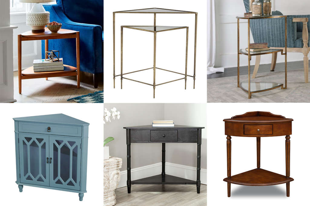 Small Space Solutions: 12 of the Best Corner Tables