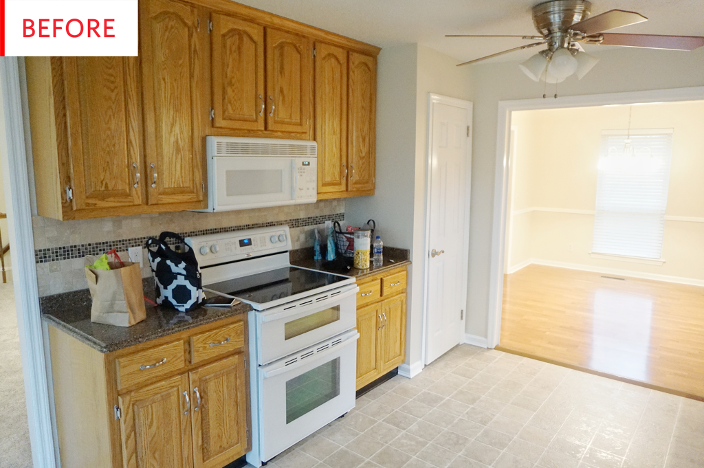 Before and After: This Is Not One of Those Wall-to-Wall White Kitchen Remodels