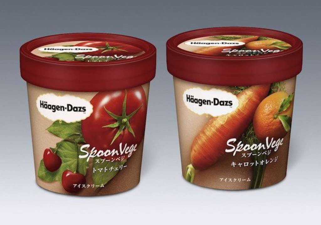 Vegetables Continue World Domination, Now Found in Ice Cream