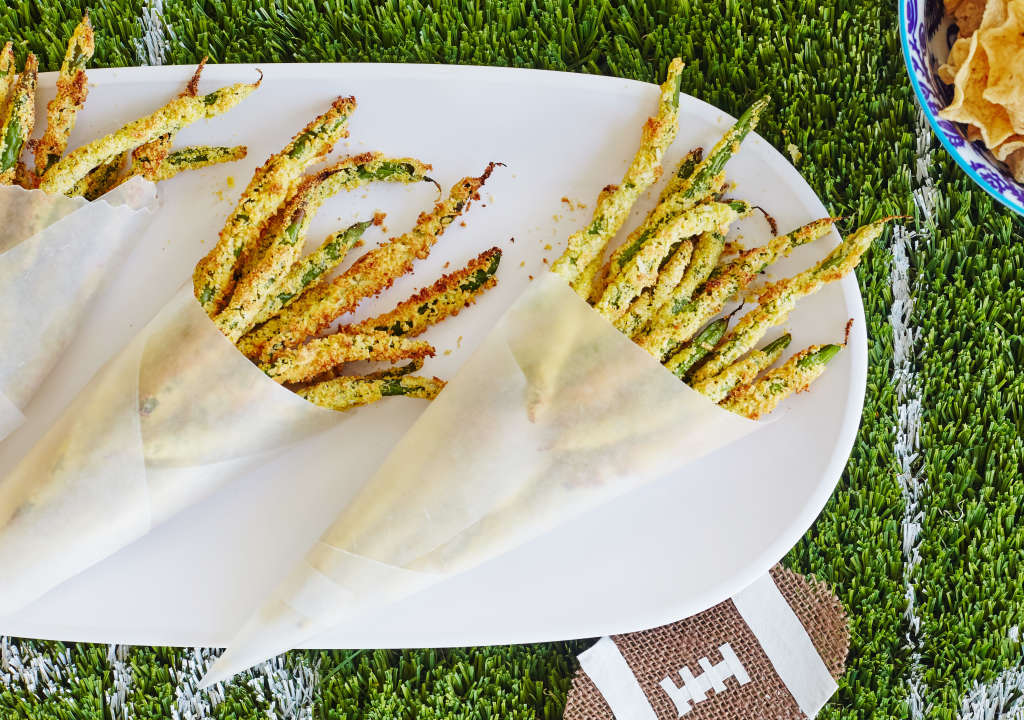 These Oven-Baked Green Bean Fries Are a Modern Miracle