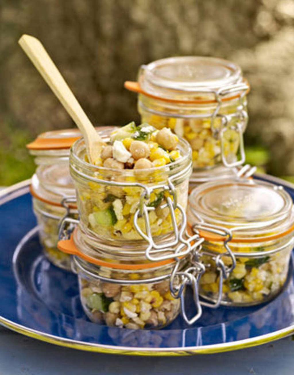 Memorial Day Serving Idea: Salad In A Jar