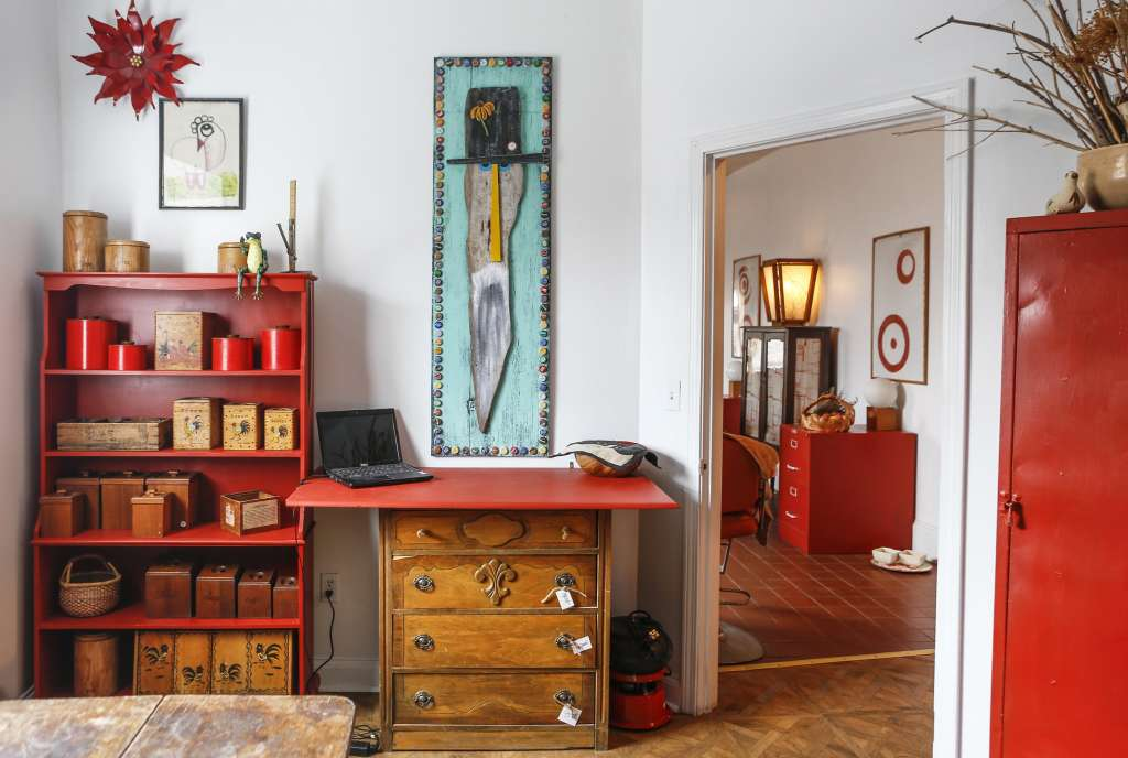House Tour: An Eclectic Rhode Island Live/Work Space
