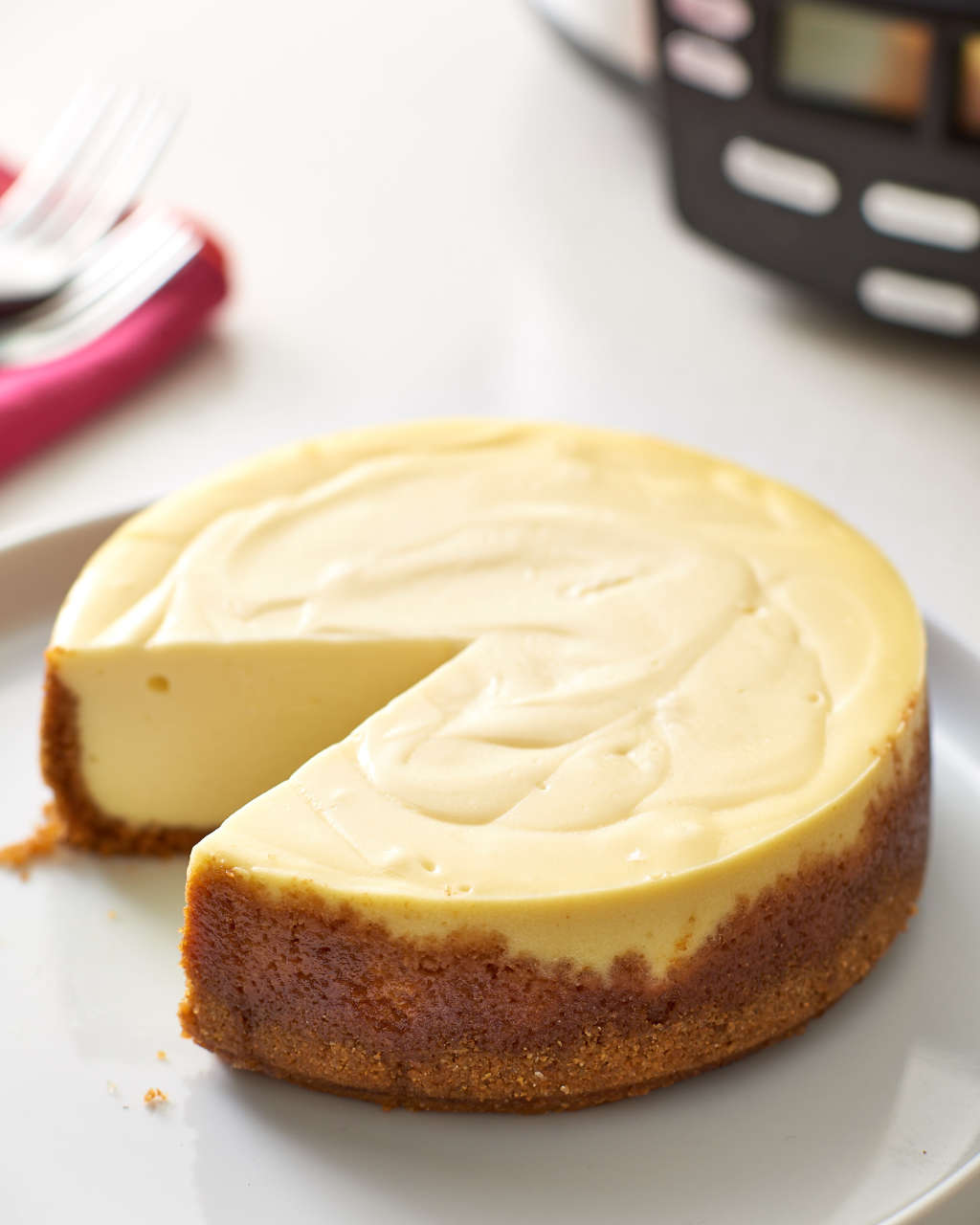 How Martha Stewart Makes Cheesecake in the Slow Cooker