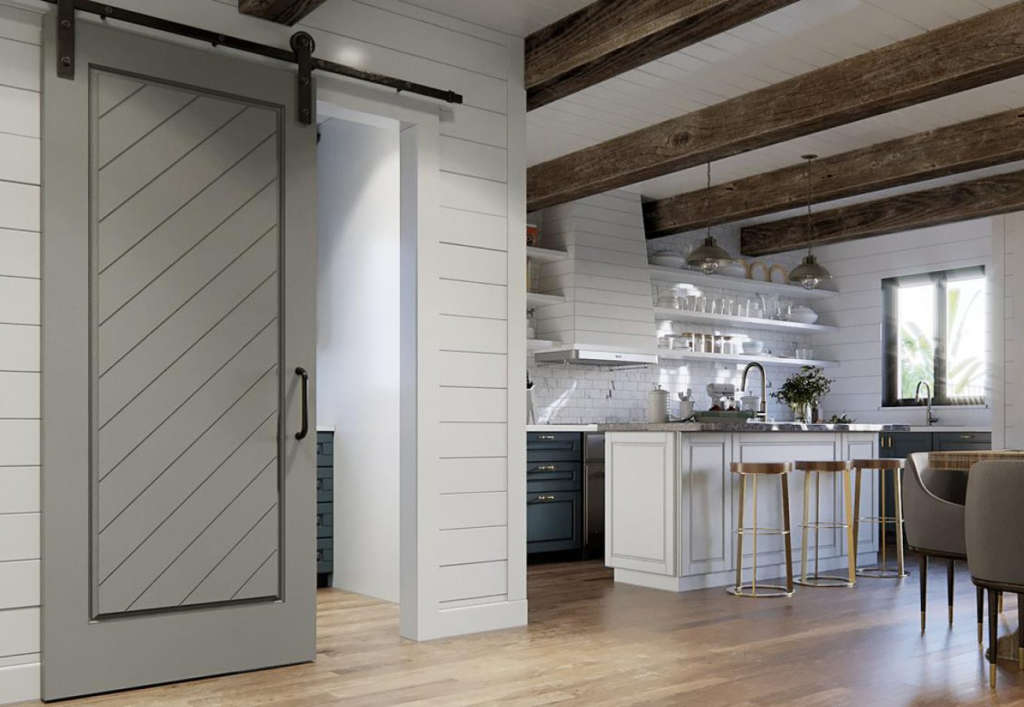 7 Ways to Use Barn Door Hardware All Over the House