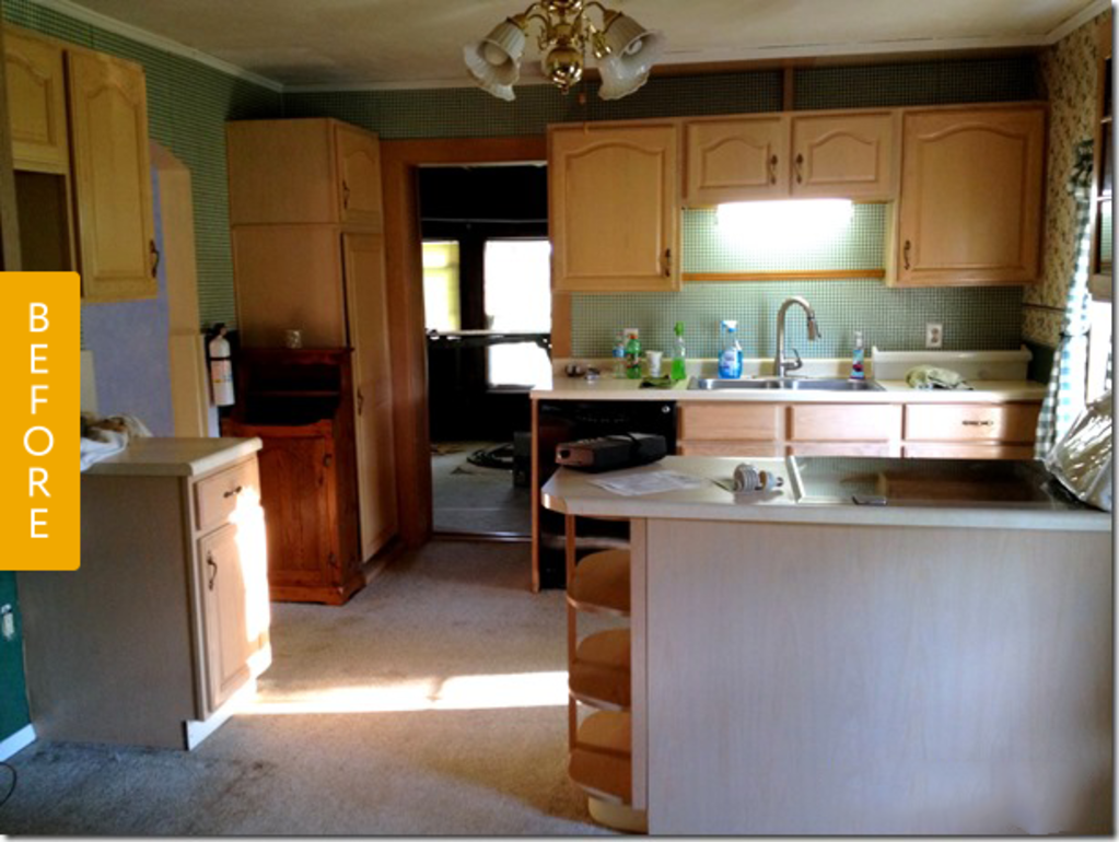 Before & After: A $1,500 Kitchen Makeover