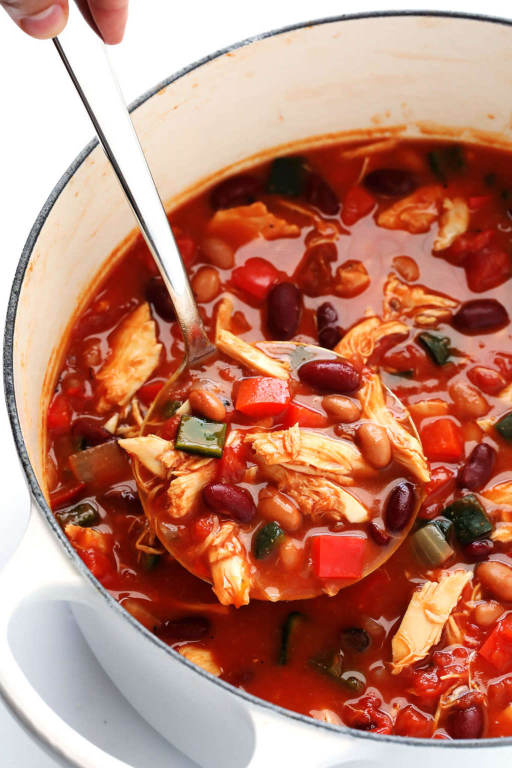 This Easy Chicken Chili Comes Together in 20 Minutes