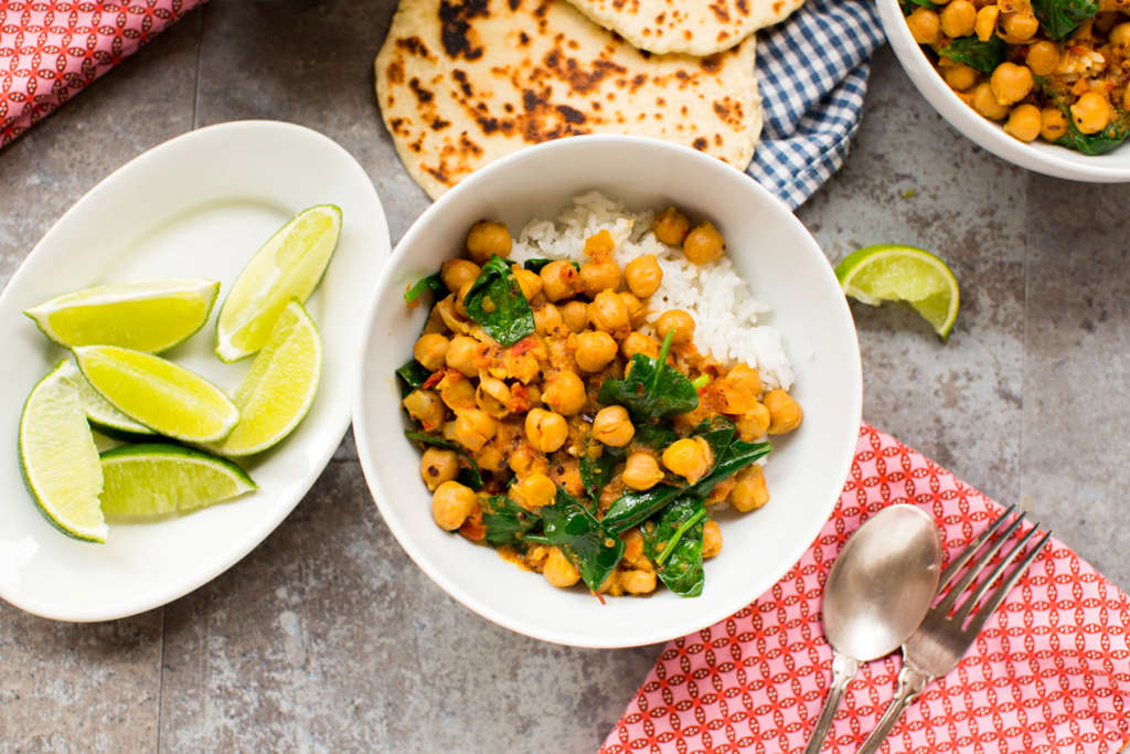 Chickpea Tikka Masala from the Slow Cooker