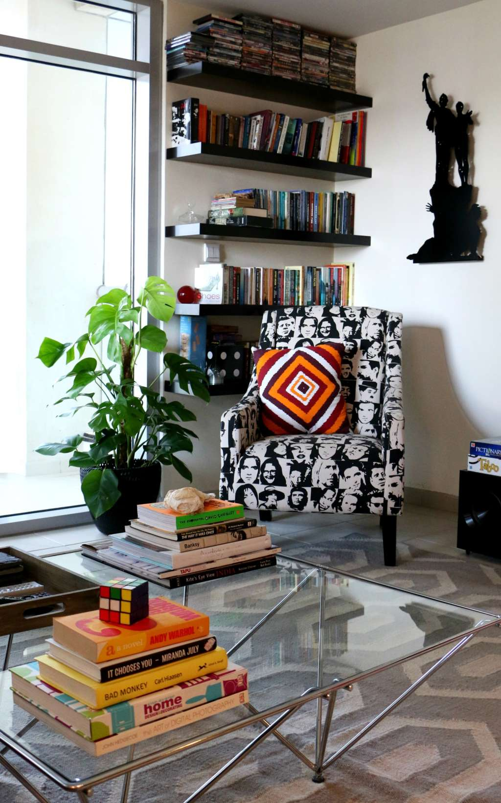 Zainab and Farhan's Colorful & Contemporary Dubai Apartment