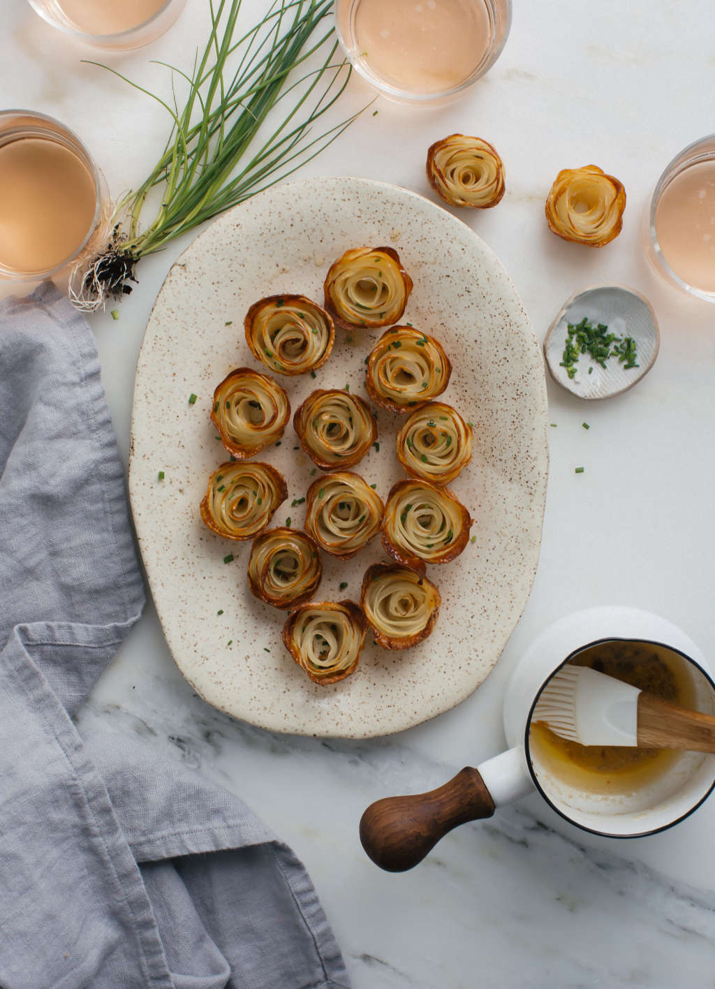 These Potato Roses Belong On Your Mother U0026 39 S Day Brunch