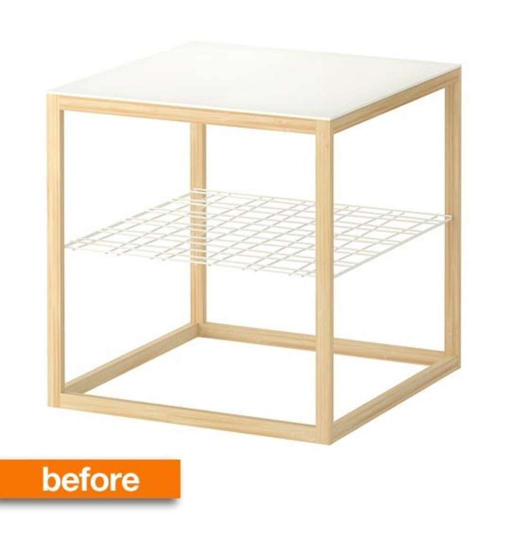Before & After: $30 IKEA Table Gets Milo Baughman Makeover