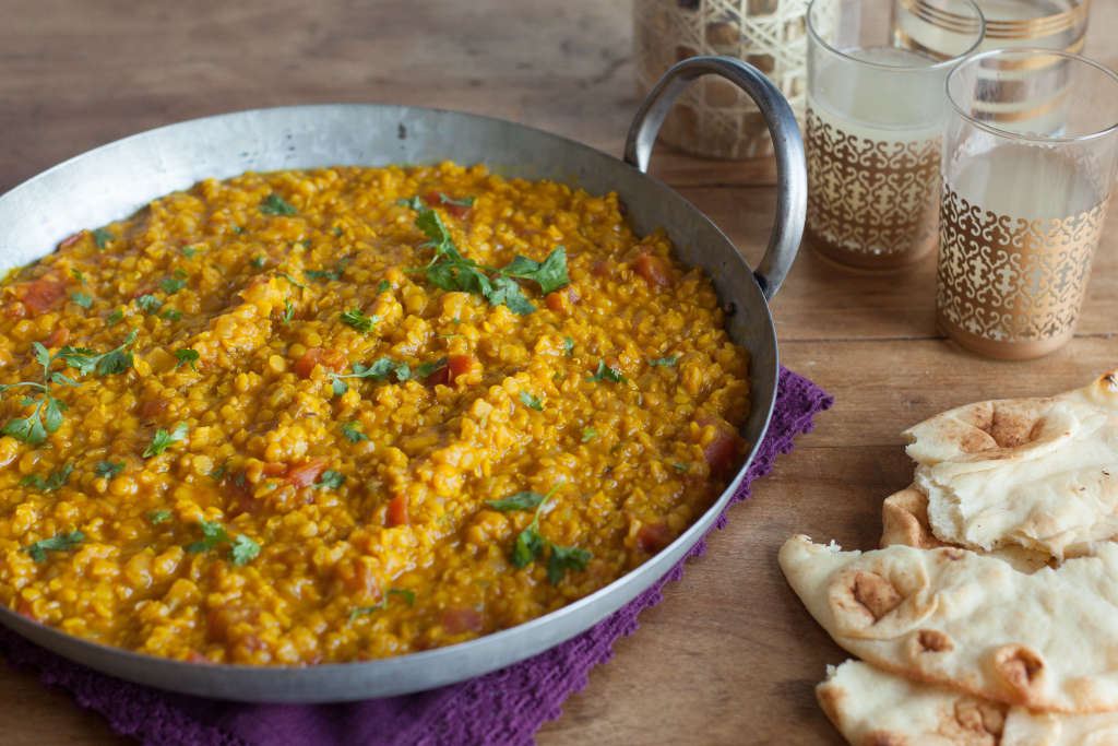 The Slow Cooker Transforms Lentils into a Silky Spiced Soup