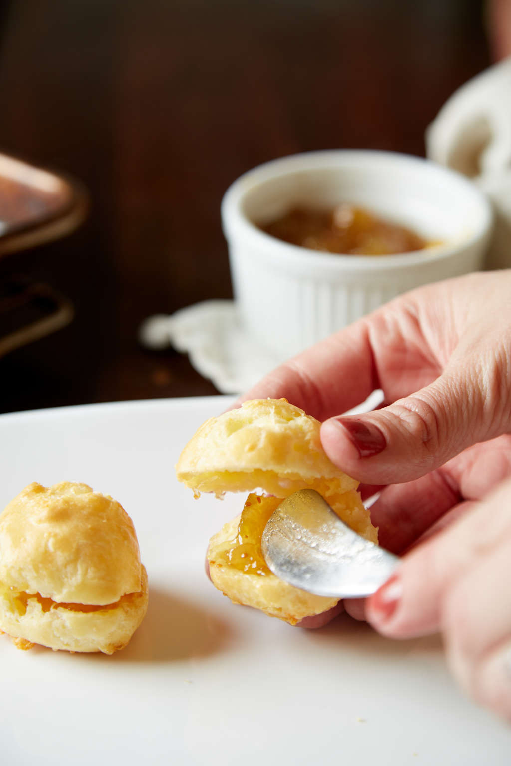 Make These Fig Jam Filled Cheese Puffs for Your Next Party