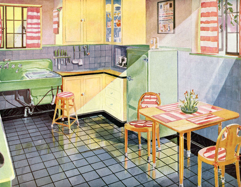 1900 - 1920s: Here's What Kitchens Looked Like 100 Years Ago