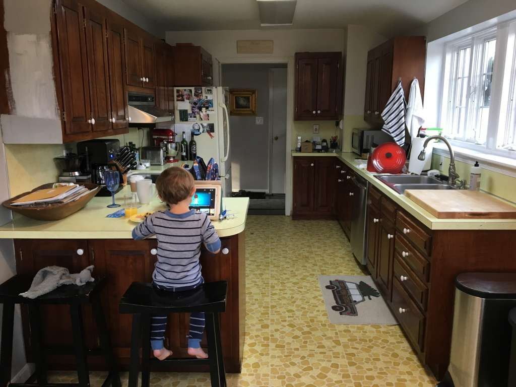How a Bit of Paint Took This Kitchen from 1954 to 2017