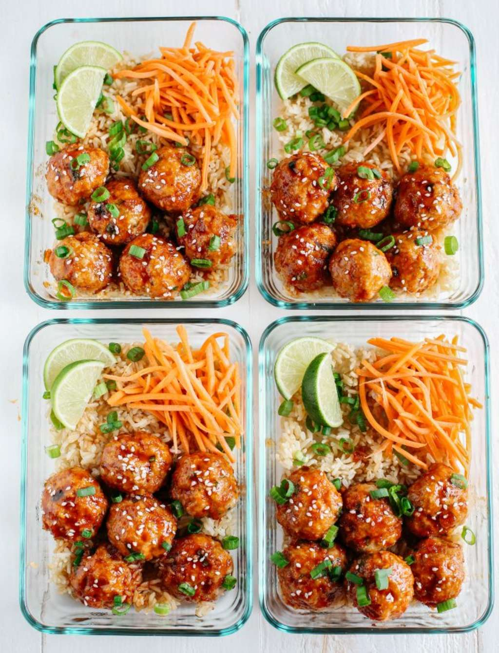 These Honey-Sriracha Meatballs Make Meal Prep Easy
