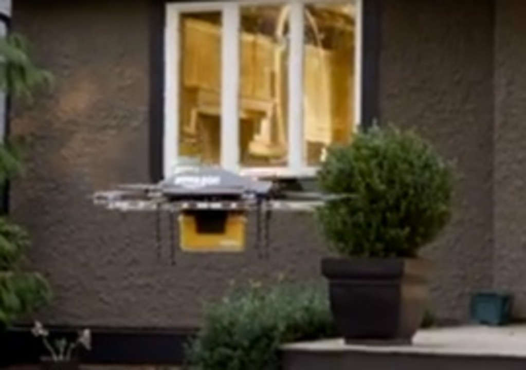 Drone-Delivered Amazon Prime Estimated for 2015