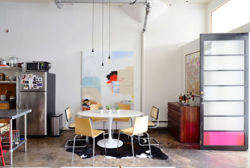 How To Paint A Concrete Floor Apartment Therapy