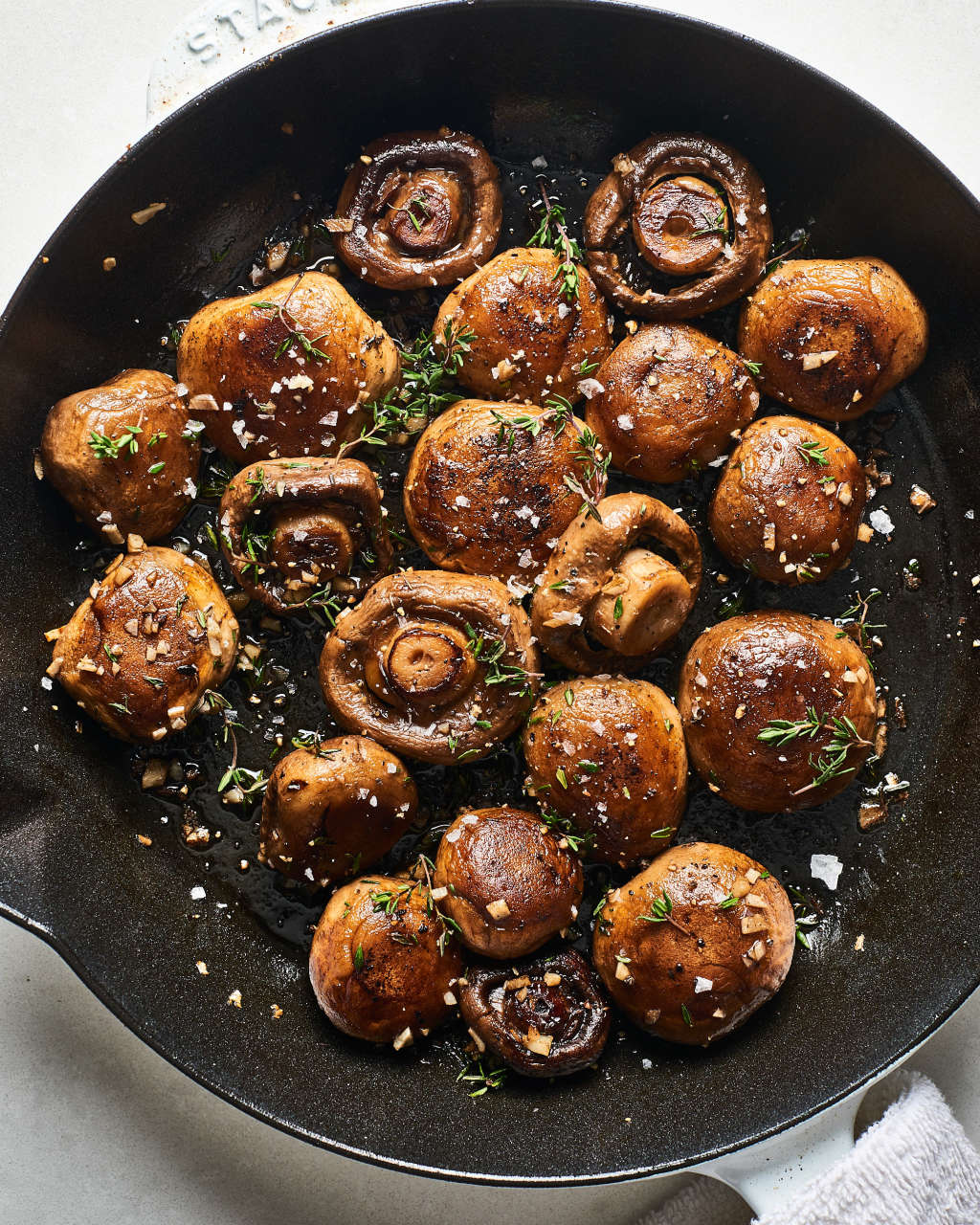 Easy 15-Minute Garlic Butter Mushrooms Go with Everything