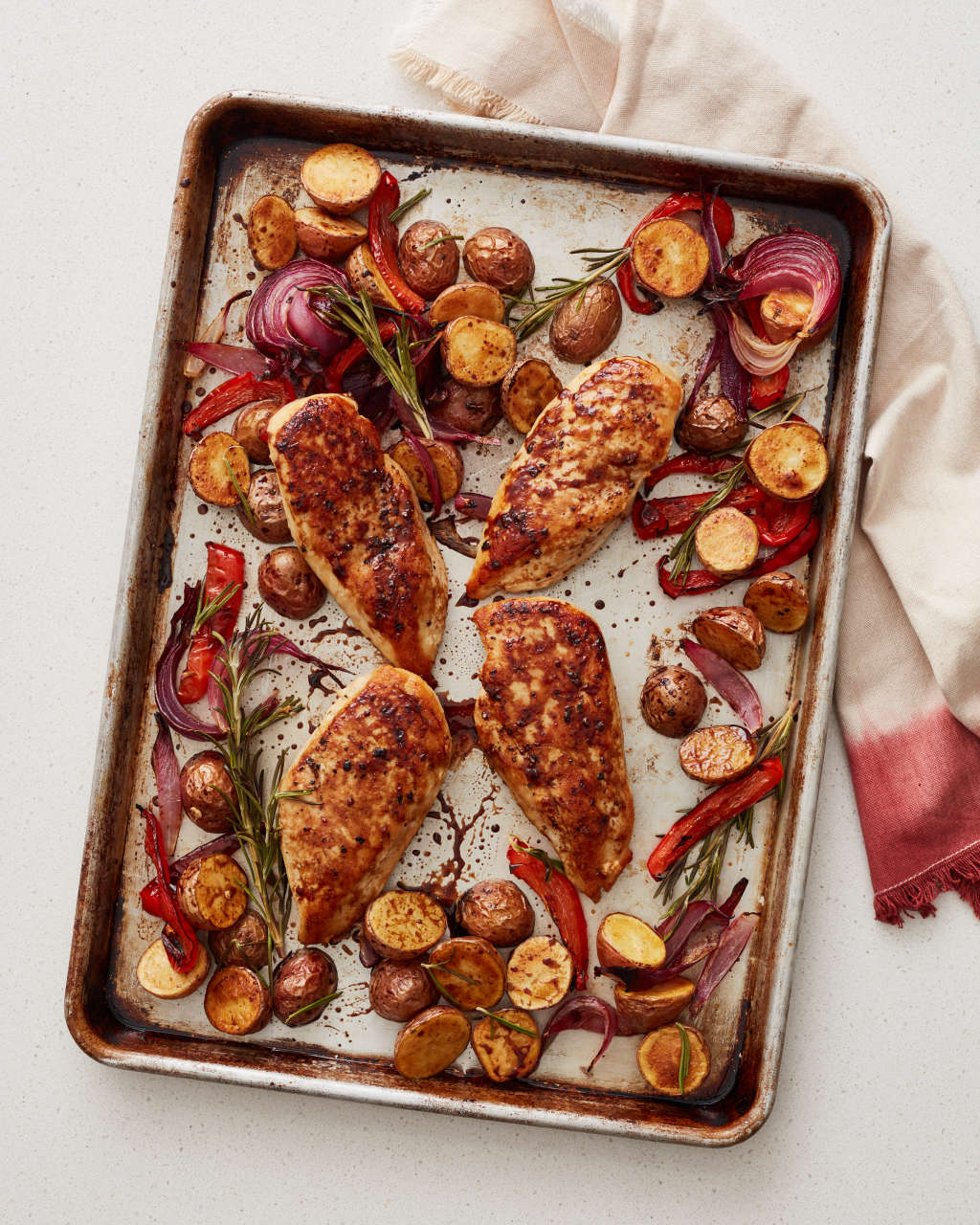 Bookmark These Easy Sheet Pan Chicken Dinners