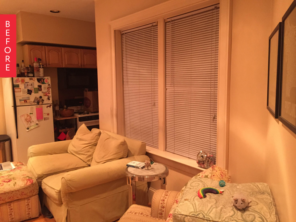Before & After: Lost Living Room Finds Beautiful Balance