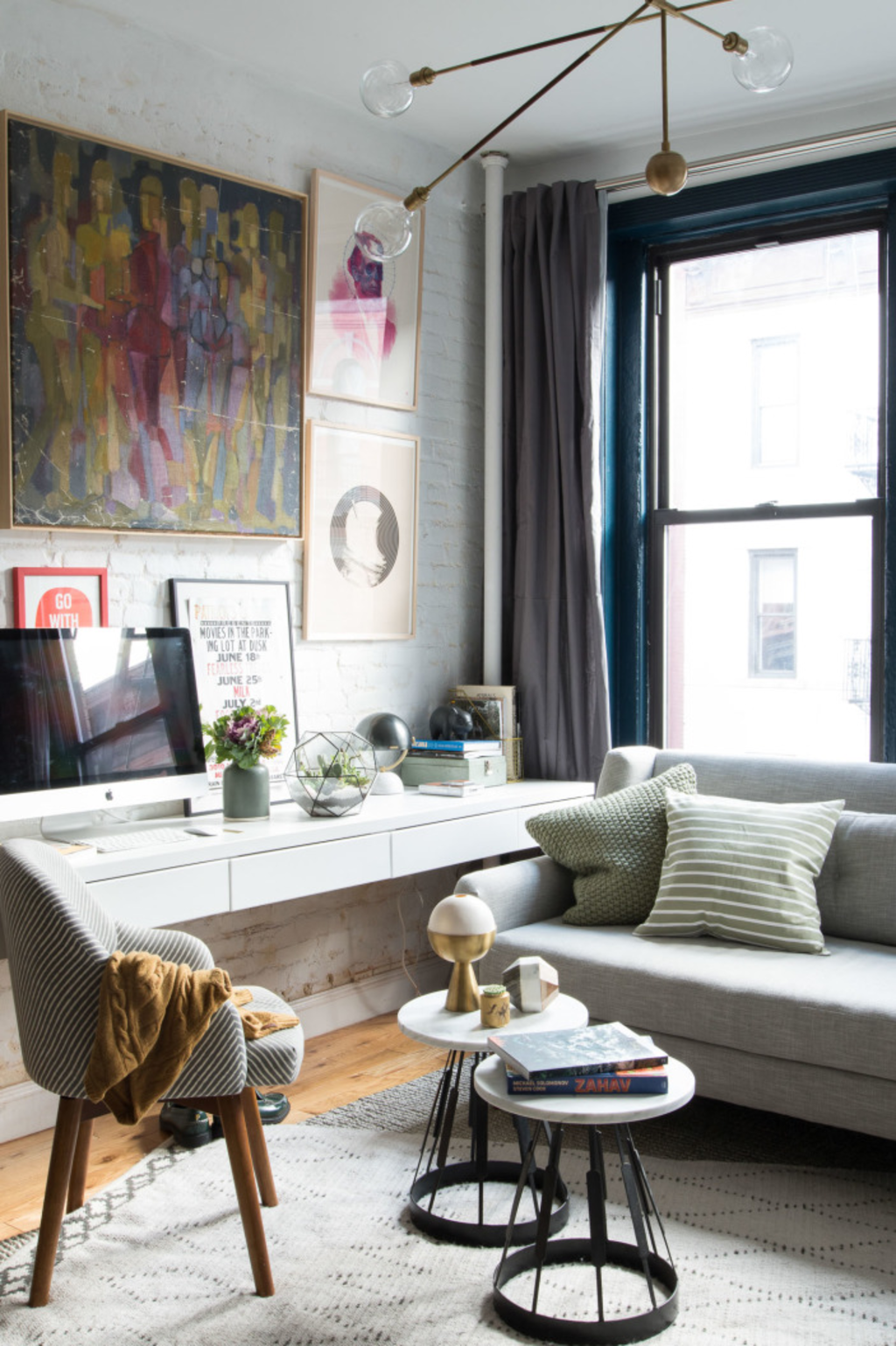 7 Ways to Fit a Workspace into a Small Space