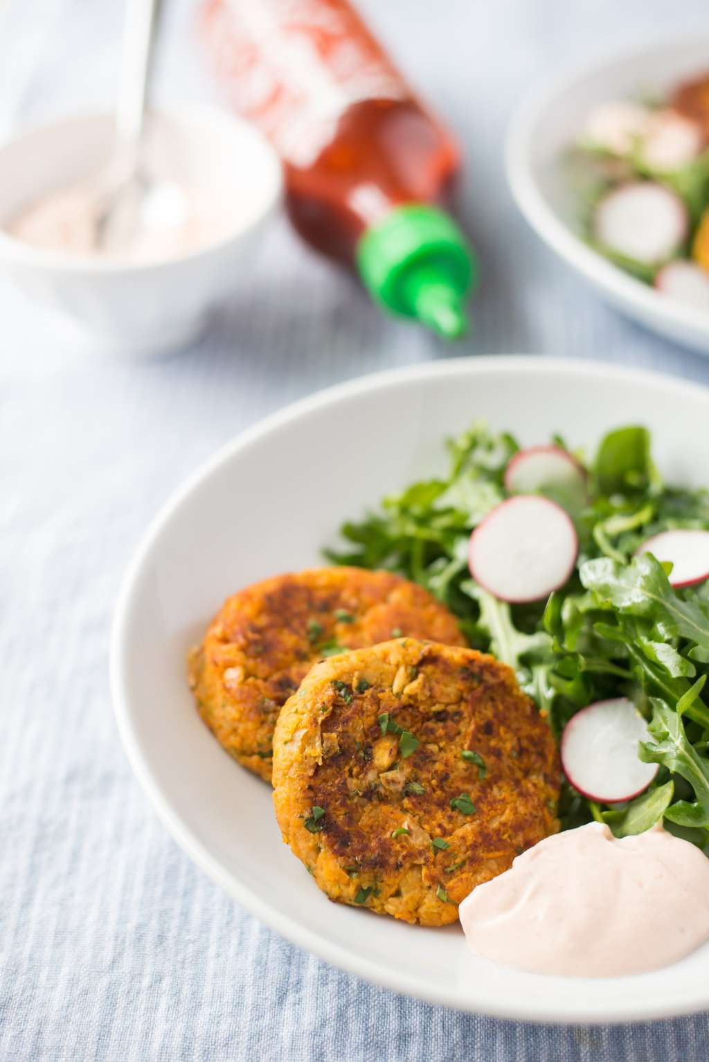 These Sweet Potato-Chickpea Fritters Make Lunch Exciting