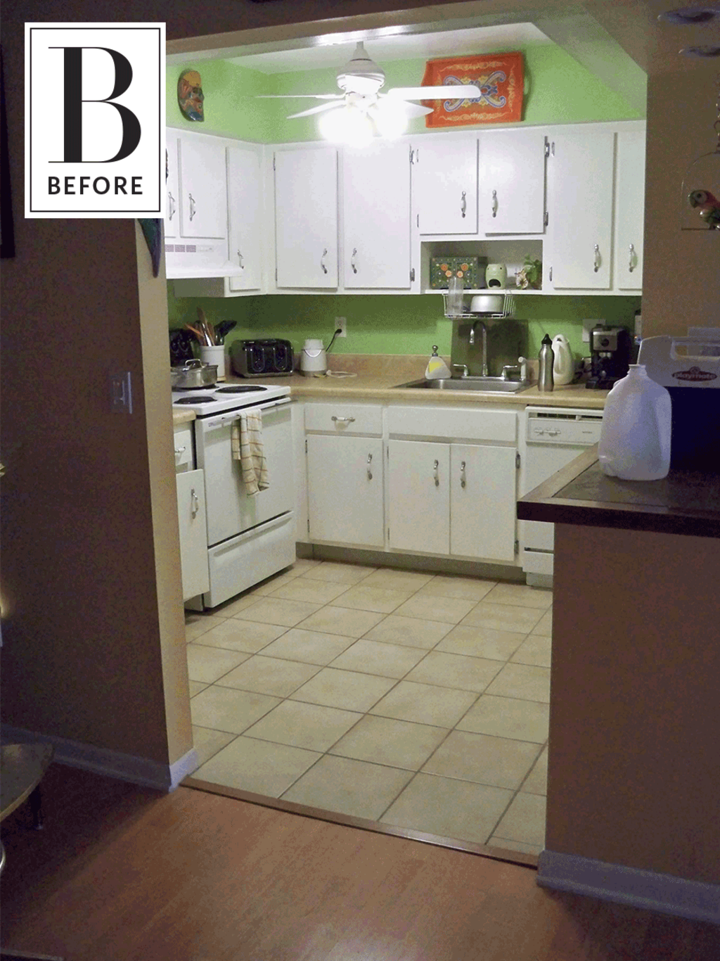 Before & After: A DIY Kitchen Remodel on a 6K Budget