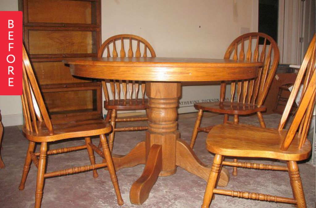 Before & After: A Plain Dining Set Pops